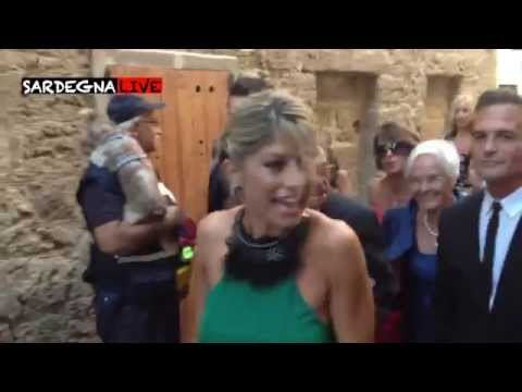 Matrimonio Elisabetta Canalis. Occhi puntati su Belen. Ecco tutte le immagini