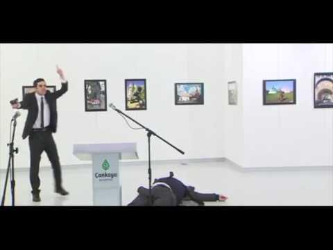 Russian Ambassador Assassinated At Turkish Art Gallery