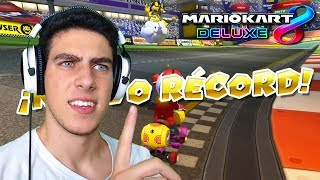 "SUPERANDO EL ""RÉCORD MUNDIAL"" DE FERNANFLOO EN MARIO KART 8 DELUXE | Nintendo Switch"