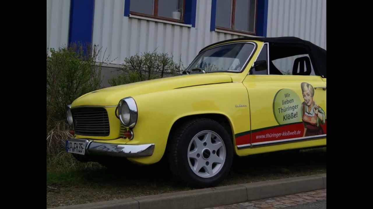 DDR IFA WARTBURG 312 CABRIO AWE OLDTIMER CLASSIC CAR PKW