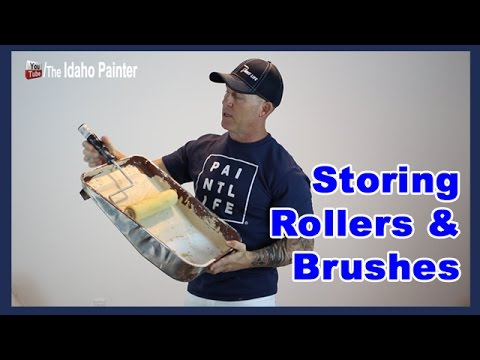 How to Store Paint Brushes.