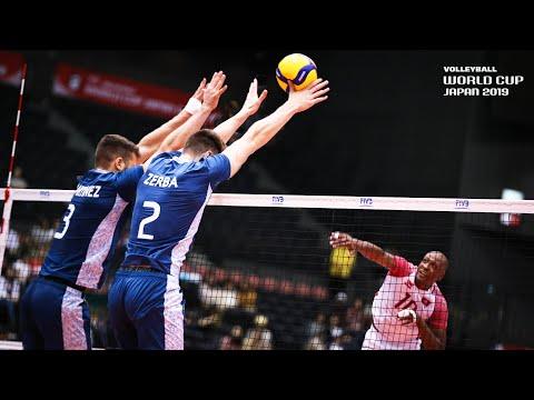 Best of BLOCKS (Round 1) @ Men's Volleyball World Cup 2019