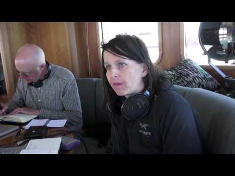 Chris Watson and Jana Winderen in the interview with Robert Dornhelm