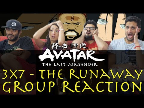 Avatar: The Last Airbender - 3x7 The Runaway - Group Reaction