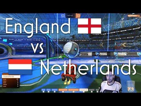 England vs Netherlands | ft. Deevo, Remkoe & more | $60 International Showmatch
