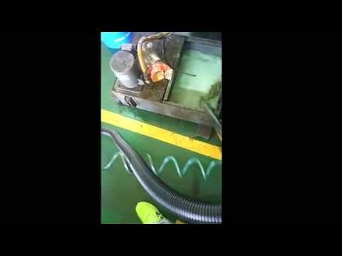 jk dynamics cnc  machine coolant  cleaner  절삭유  청소기