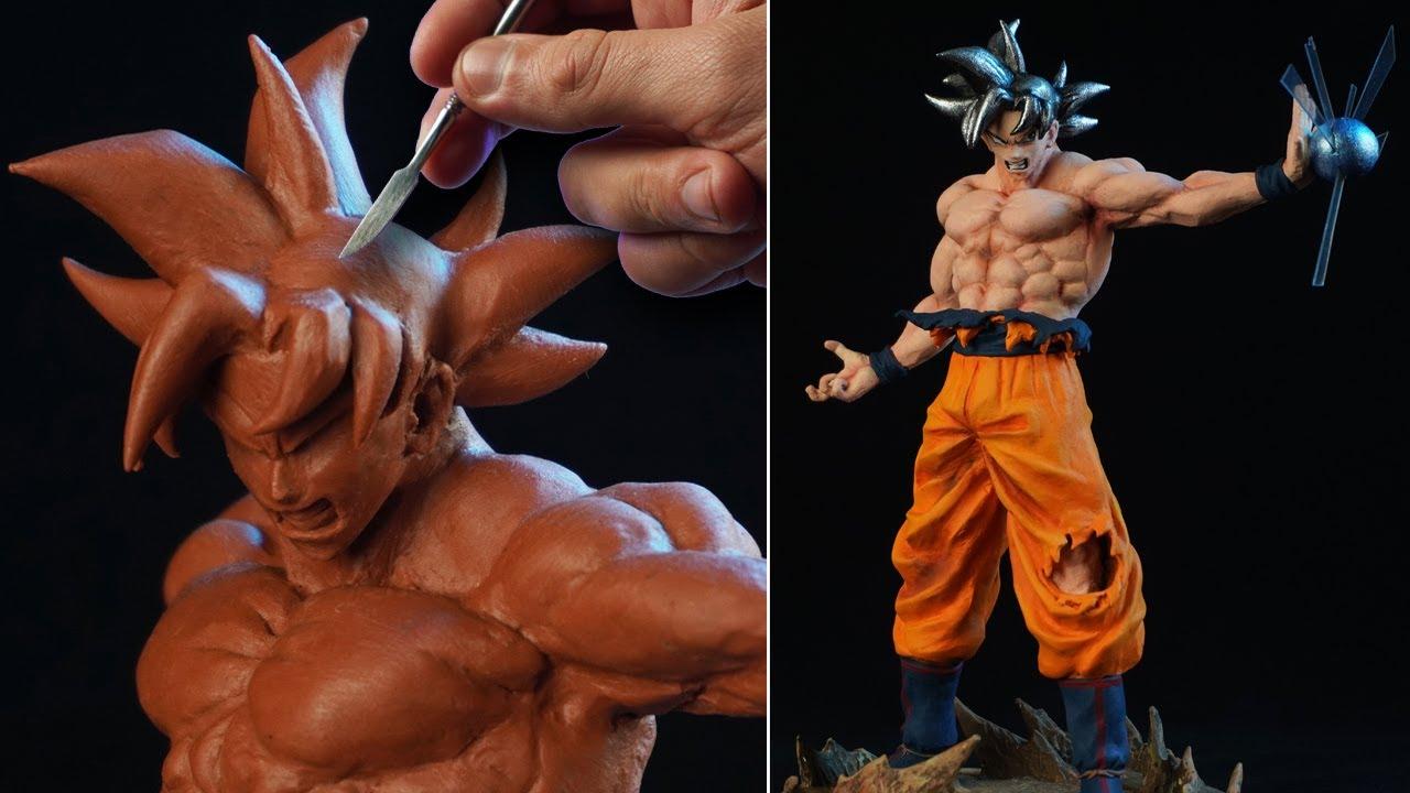 Sculpting GOKU ULTRA INSTINCT | Dragon Ball Super [ Migatte No Gokui ]