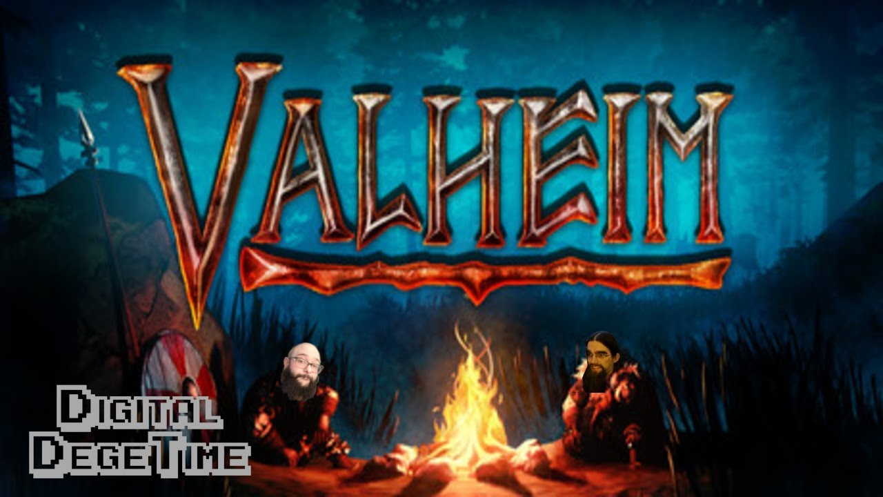 #shorts VALHEIM - Digital DegeTime Sails to the edge of the world to see what's there!
