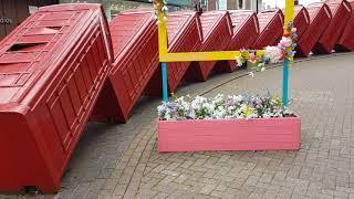 영국의 상징  빨강 공중 전화 박스....(동영상 업로…