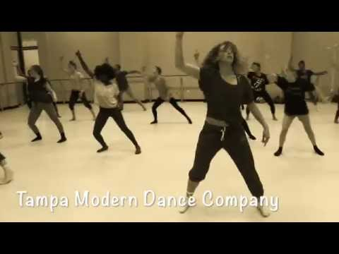 Tampa Modern Dance Company Open company class