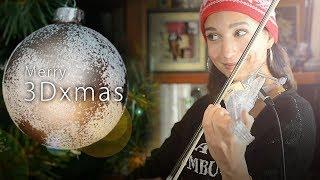 🎄 ☃️❄️Merry 3Dxmas! Violin christmas song Mashup (by 3Dvarius Twice)