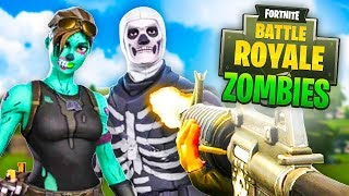 NEW ZOMBIES Custom Game In FORTNITE Battle Royale