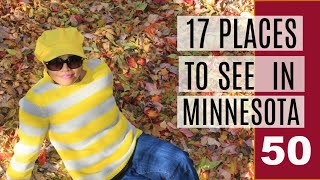 PLACES TO SEE IN MINNESOTA, USA  TRAVEL VLOG  #50