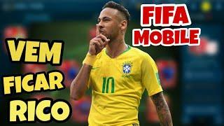 COMO FICAR MUITO RICO FAZENDO TRADE NO FIFA 19 MOBILE