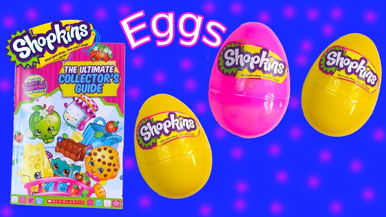 Shopkins Season 1 And 2 Surprise 3 Mystery Eggs Ultimate