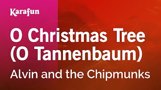 Karaoke O Christmas Tree (O Tannenbaum) - Alvin and the Chipmunks *