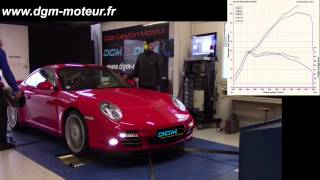 REPROGRAMMATION PORSCHE 997 3.8L Turbo 500ch - Dijon Gestion Moteur