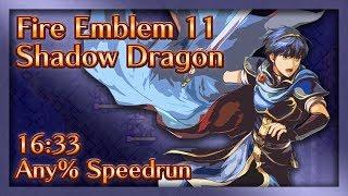 Fire Emblem 11: Shadow Dragon Speed Run - 16:33