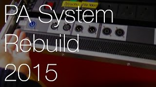 Portable PA System Rebuild: Part 2 (New Amp, Wiring & Patch Panel) | IMNC