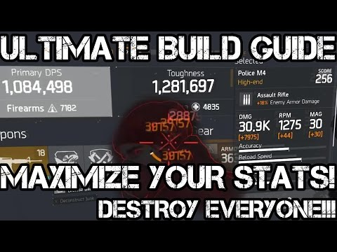 The Division 1.5 ULTIMATE BEST DPS PvP BUILD GUIDE [EVERYTHING YOU NEED TO KNOW TO MELT AGENTS!]