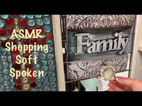 ASMR Shopping/Consignment store/Soft spoken