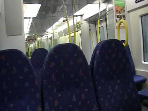 X60 commuter train ride between Upplands Väsby and Rosersberg