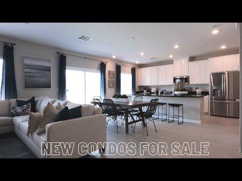 Roxbury Condos | New Homes For Sale North Las vegas | Kensignton Model Tour