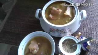 Как приготовить хаш#Азербайджанская кухня#Xaş bişirilmesi
