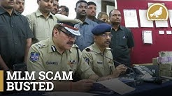 Cryptocurrency Based MLM Scheme Busted In Hyderabad