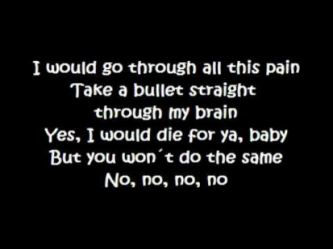 Bruno Mars - Grenade (Lyrics)