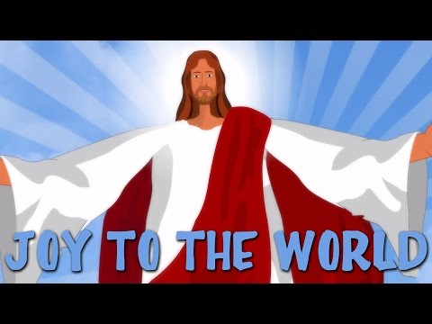 Joy To The World With Lyrics | Popular Christmas Carols For Kids