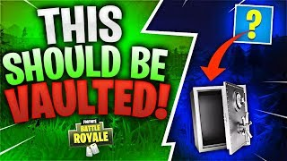 THIS SHOULD BE VAULTED! Feat. Hysteria (Fortnite Battle Royale)