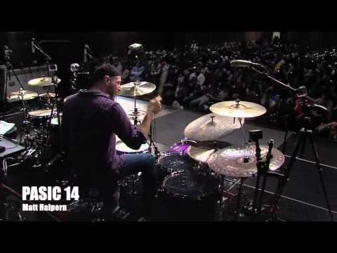 PASIC14 Matt Halpern Drumset Clinic