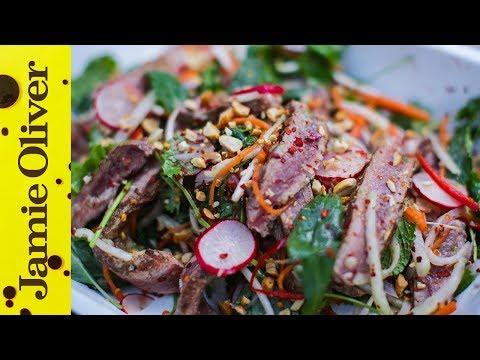 Chilli Beef Salad | Food Busker