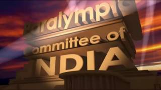 Paralympic Committee of India - Title Display