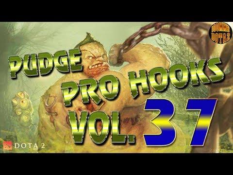 Dota 2 Pudge Pro Hooks 2018 - Weekly Hooks Vol. 37