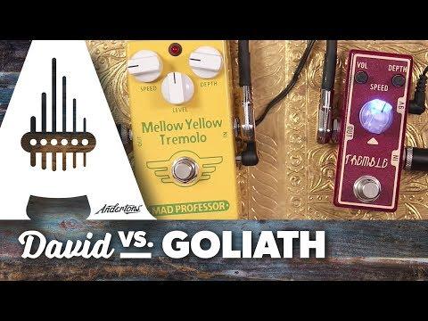 David vs. Goliath - Tone City Tremble vs. Mad Professor Mellow Yellow Tremolo