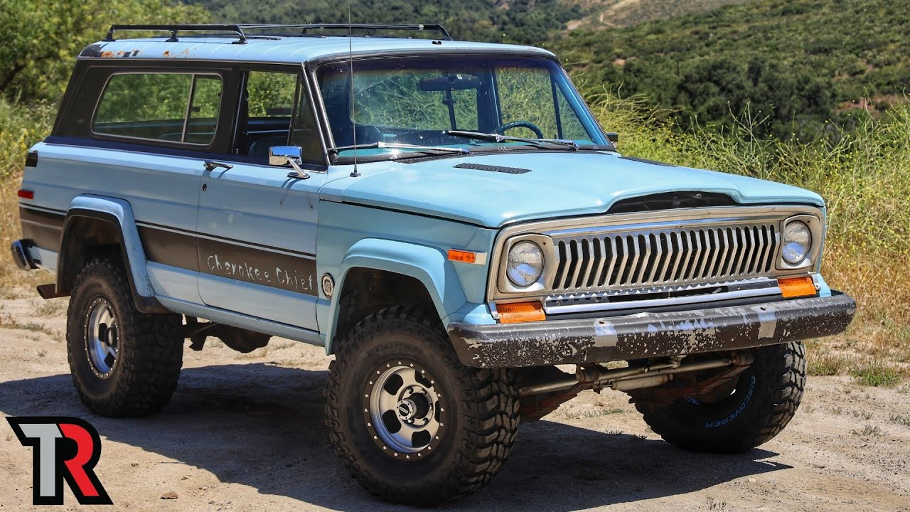 Is this 41 Year Old Jeep Cherokee Chief Worth Restoring ...