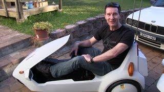 eevblog 501 sinclair c5 electric car teardown test drive