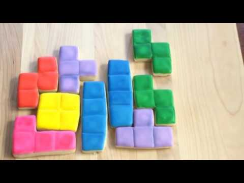 Tetris Played By Sugar Cookies Youtube