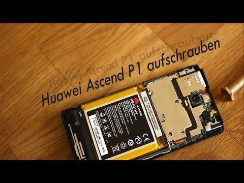 Kurztipp #1 Huawei Ascend P1 aufschrauben - Techandroid.de