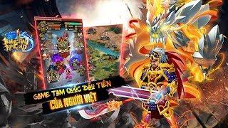 Trải nghiệm Hoàng Đao Kim Giáp ! game thẻ tướng Tam Quốc đầu tiên của người Việt