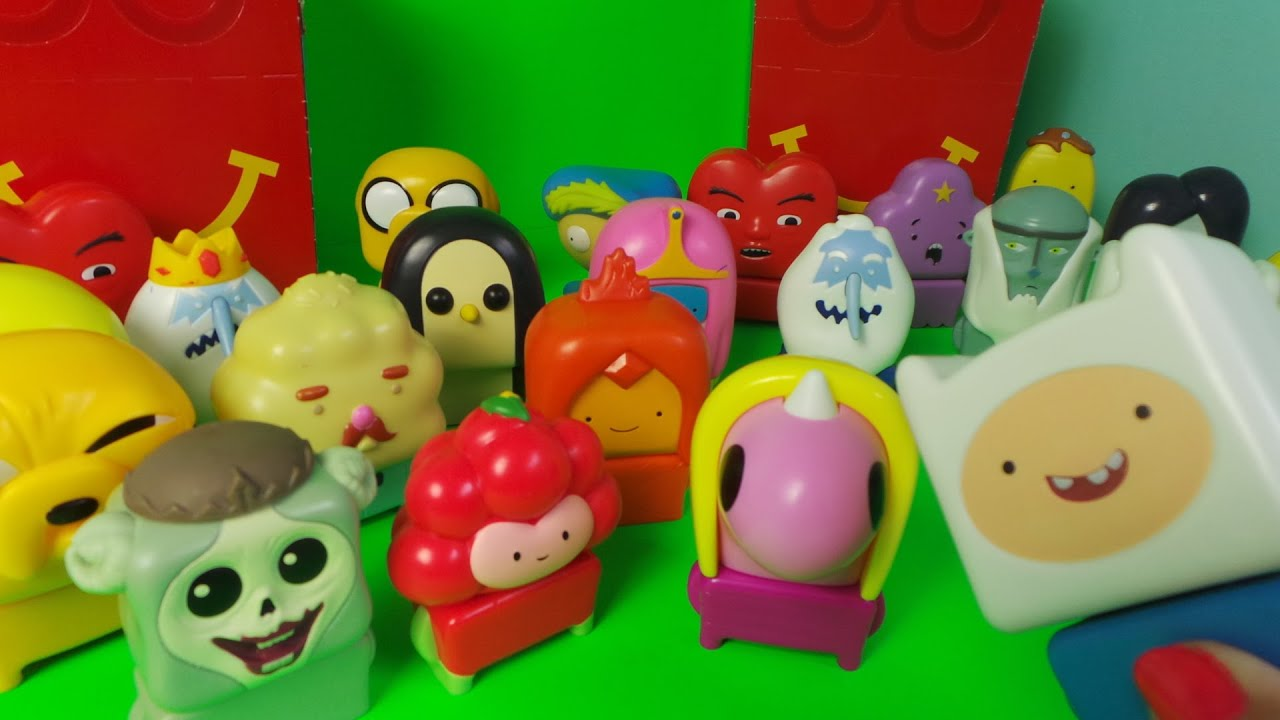 30 X Adventure Time Mcdonald S Happy Meal Toys With Finn