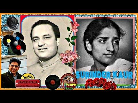*.-MUKESH & SURINDER Kaur-Film~DADA-(1949)(-Tera Kisi Se Pyar Tha.[Best Clear 78RPM Audio Version]~