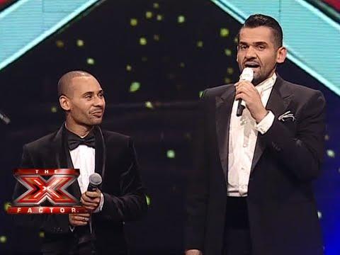محمد الريفي وحسين الجسمي - آكديللي - العروض المباشرة - الاسبوع  الاخير - The X Factor 2013