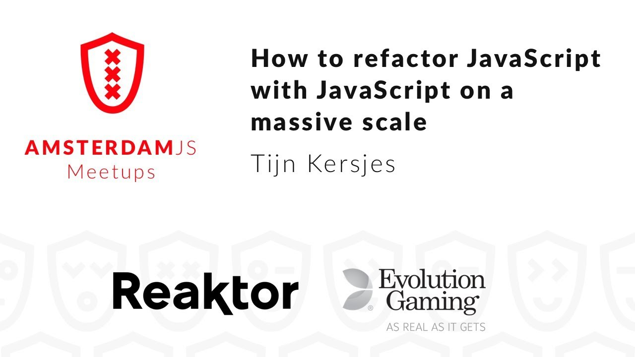 How to refactor JavaScript with JavaScript on a massive scale – Kersjes