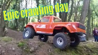 RC Crawlers in the forest