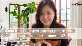 Can A Blocked View Unit Make More Profit Than An Unblocked View Unit?