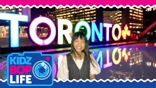 KIDZ BOP Life: Vlog #27 - Behind The Scenes with Julianna in Toronto