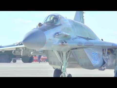 Russia MOD - MiG-29SMT Multi-Role Fighters Live Firing Exercise [720p]